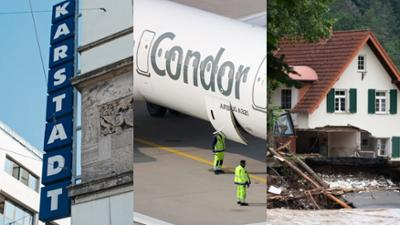 Tagesgespräch: Karstadt, Condor, Fluthilfe: Soll der Staat für alles zahlen?