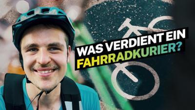 Lohnt sich das?: Was verdient ein Food-Fahrradkurier?