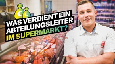 Lohnt sich das?: Was verdient ein Supermarkt-Abteilungsleiter?
