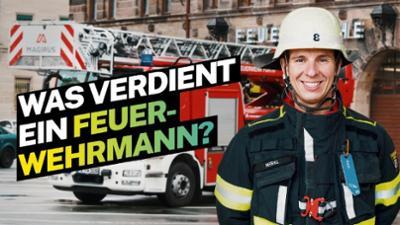 Lohnt sich das?: Was verdient ein Feuerwehrmann?
