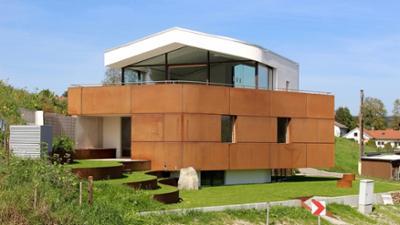 Traumhäuser: Ein Haus mit Kurven und Kanten