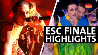 Eurovision Song Contest: ESC 2021: Alinas und Stefans Highlights des Finales