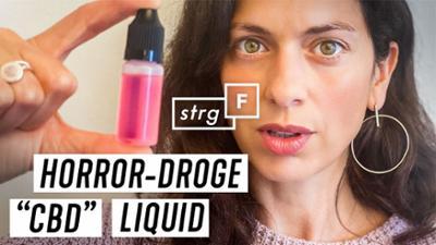 """STRG_F: Schlimmer als Heroin? Was steckt hinter """"CBD Liquid""""? STRG_F"""