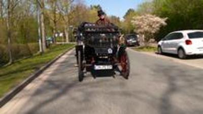 Benz Victoria, das älteste Fahrzeug auf Deutschland Straßen