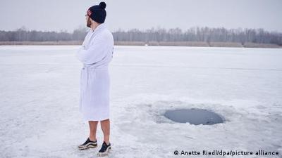 Fokus Europa: Deutschland: Eisbaden gegen Corona-Tristesse