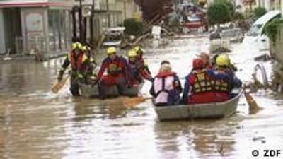 Stadt, Land, Flut - Neue Methoden bei Hochwasser