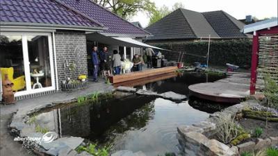 Abenteuer Leben: Der DIY-Schwimmteich mit Terrasse
