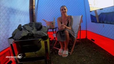 Abenteuer Leben: Das Sauna-Zelt