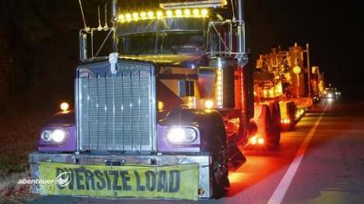 Abenteuer Leben: Sonntag: Die härtesten Trucker der USA: bla und bla und bla