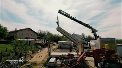 Abenteuer Leben: Aufklappbares Haus - In 5 Tagen zum Rohbau