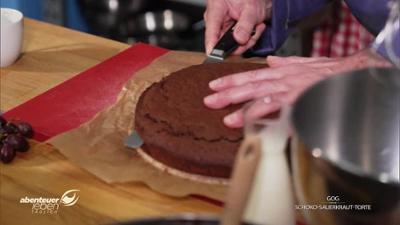 Abenteuer Leben: Schokoladenkuchen mit Sauerkraut: Gaumenschmaus oder Gaumengraus?