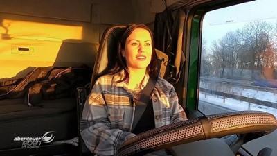 Abenteuer Leben: Trucker Babe Gina ganz privat