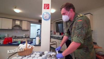 Achtung Kontrolle: Einsatz im Seniorenheim - Bundeswehr Willhelmshaven