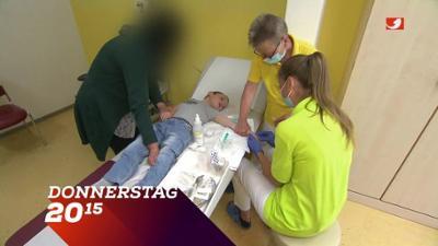 Die Klinik - Ärzte, Helfer, Diagnosen: Trailer: Von Jung bis Alt - Die Leipziger Ärzte kämpfen um jedes Leben