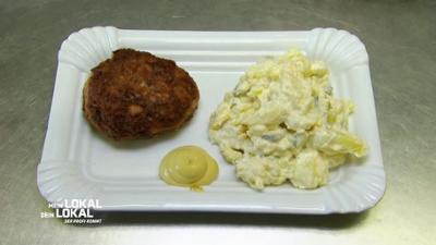 Mein Lokal, Dein Lokal: Hausgemachte Frikadellen mit Kartoffelsalat