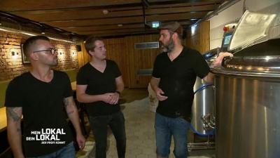 Mein Lokal, Dein Lokal: Braumeister Luke führt durch den Bierkeller