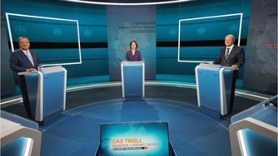 Nach TV-Triell: Umfrage sieht SPD mit großem Abstand vor der Union