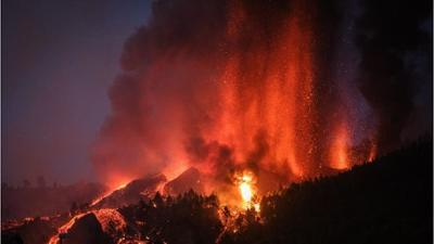 News & Trends: Heftige Explosion und riesige Aschewolke: Vulkanausbruch auf La Palma