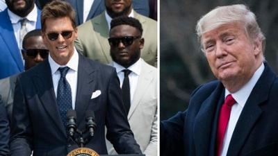 News & Trends: Bei Besuch in Weißem Haus: NFL-Star Tom Brady spottet über Donald Trump
