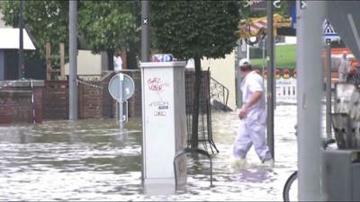 News & Trends: Unwetterwarnung: Hier sorgt die Gewitterfront für Starkregen