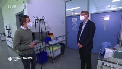 Notaufnahme live: Chefarzt der Infektiologie rechnet mit Corona-Leugnern ab