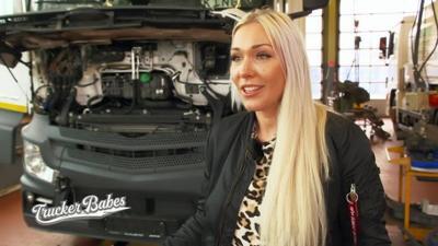 Trucker Babes: Sabrina bekommt ein mulmiges Gefühl