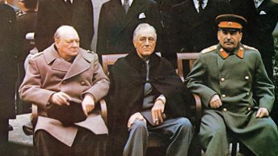 Das Kriegsende in Farbe: Sieger und Besiegte