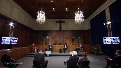 die diskussion: Festakt 75 Jahre Nürnberger Prozesse