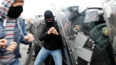die diskussion: Karlsruher Verfassungsgespräch: Macht und Ohnmacht der Polizei im Verfassungsstaat