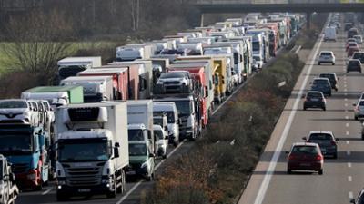 Die Trucker: Heißes Pflaster Autobahn