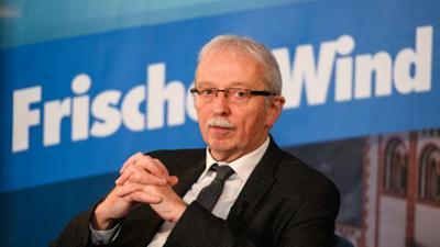 phoenix vor ort: Spitzenkandidaten im Interview: Michael Frisch, AfD (Rheinland-Pfalz)