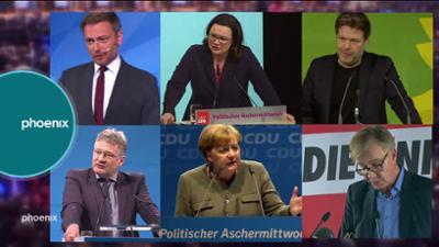 phoenix vor ort: Politischer Aschermittwoch der Parteien