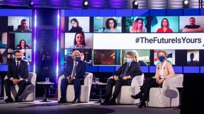 phoenix vor ort: Eröffnung der EU-Zukunftskonferenz