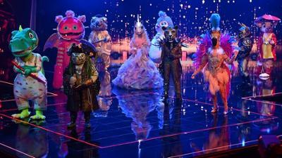 The Masked Singer: Finale der 4. Staffel: Die 'Masked Singer' performen 'Fix You' v
