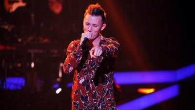"""The Voice of Germany: Matthias Nebel: """"I Don't Want to Miss a Thing"""""""