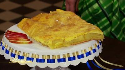Das große Promibacken: Franziska Knuppes Apfel-Vanillepudding-Kuchen