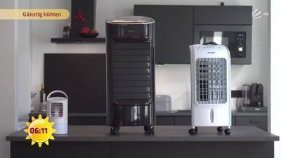 Frühstücksfernsehen: Eine Mini-Klimaanlage für das eigene Zimmer