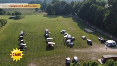 Frühstücksfernsehen: Urlaubstrend Pop-Up-Camping