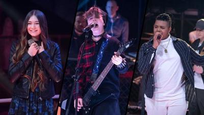 """The Voice Kids: Emily vs. Rockzone vs. Ibrahim im Battle: """"Big In Japan"""""""