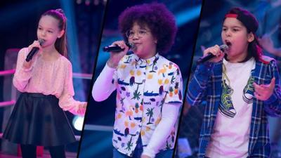 "The Voice Kids: Lorena vs. Alma vs. Fabio im Battle: ""Sowieso"""