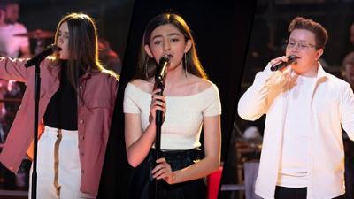 "The Voice Kids: Constance vs. Elisa vs. Ben im Battle: ""Skyfall"""