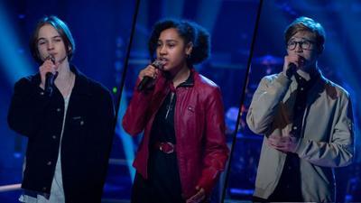 "The Voice Kids: Egon vs. Johanna vs. Arthur im Battle: ""You Broke Me First"""