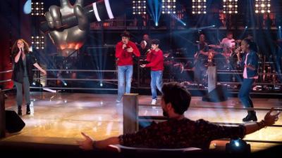 "The Voice Kids: Maya P. vs. Oscar & Mino vs. Saralynn im Battle: ""You'll"