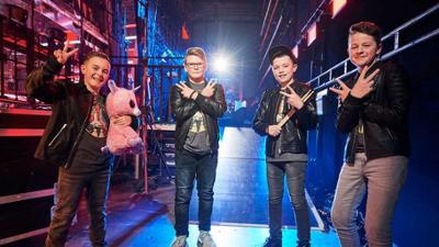 """The Voice Kids: Exklusiv vorab: Mit diesem AC/DC-Song rocken """"The Rockets"""" d"""