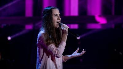 """The Voice Kids: Elisabeth: """"Sinyaya vechnost'"""""""