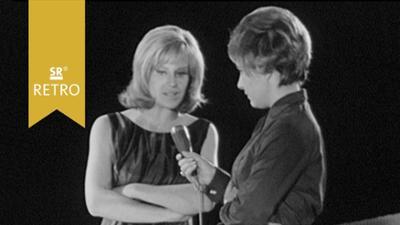 SR Retro - Abendschau: Interview Hildegard Knef