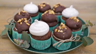 Kaffee oder Tee: Rezept: Erdnussbutter-Schokoladen-Muffins