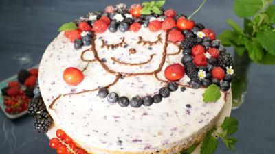 Kaffee oder Tee: Rezept: Berry Face Cake