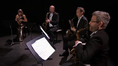 #Zusammenspielen - Freie Musiker*innen bei SWR2: Das Raschèr Saxophone Quartet - Musikalisch vielseitig