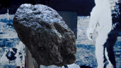 Die Maus wird 50: Sachgeschichte: Mondgestein